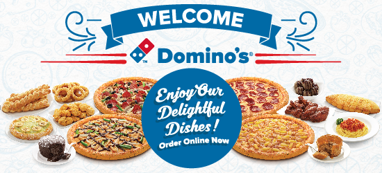 Welcome to Domino's Pizza Singapore