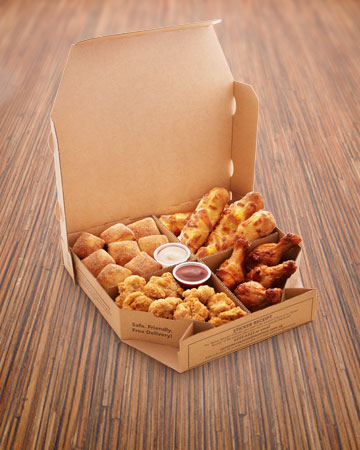 Order Bbq Chicken Wings Drumettes Chocolate Lava Cake Banana Kaya Pizza Delivery At Domino S Sg